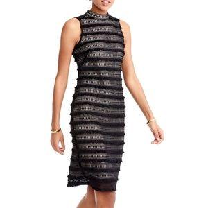 J. Crew Fringy Lace Sheath Dress